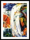Franz Marc The enchanted mill Framed Canvas Ready To Hang Classical Art Giclee Wall Art Print Interior Design Museum Quality