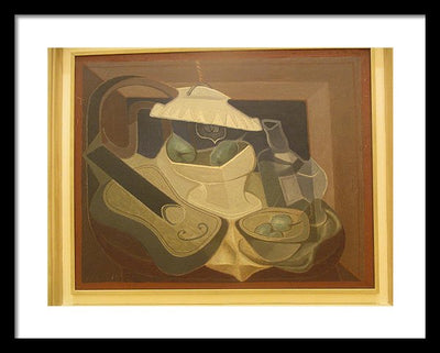 Juan Gris Strasbourg Framed Canvas Ready To Hang Classical Art Giclee Wall Art Print Interior Design Museum Quality