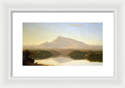 Sanford Robinson Gifford Wilderness Framed Canvas Ready To Hang Classical Art Giclee Wall Art Print Interior Design Museum Quality