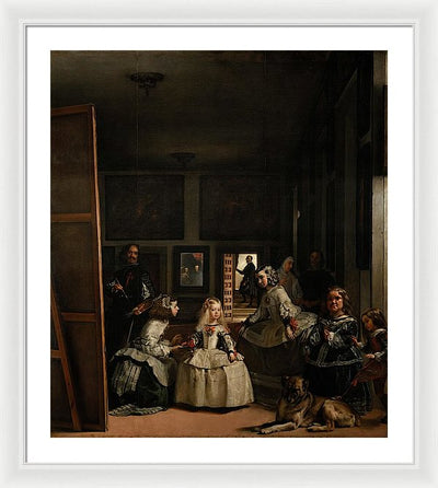 Diego Velázquez The Family Of Felipe IV (Las Meninas) Framed Canvas Ready To Hang Classical Art Giclee Wall Art Print Interior Design Museum Quality