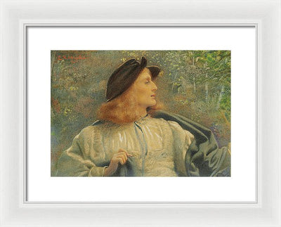 Edward Robert Hughes Orlando Framed Canvas Ready To Hang Classical Art Giclee Wall Art Print Interior Design Museum Quality