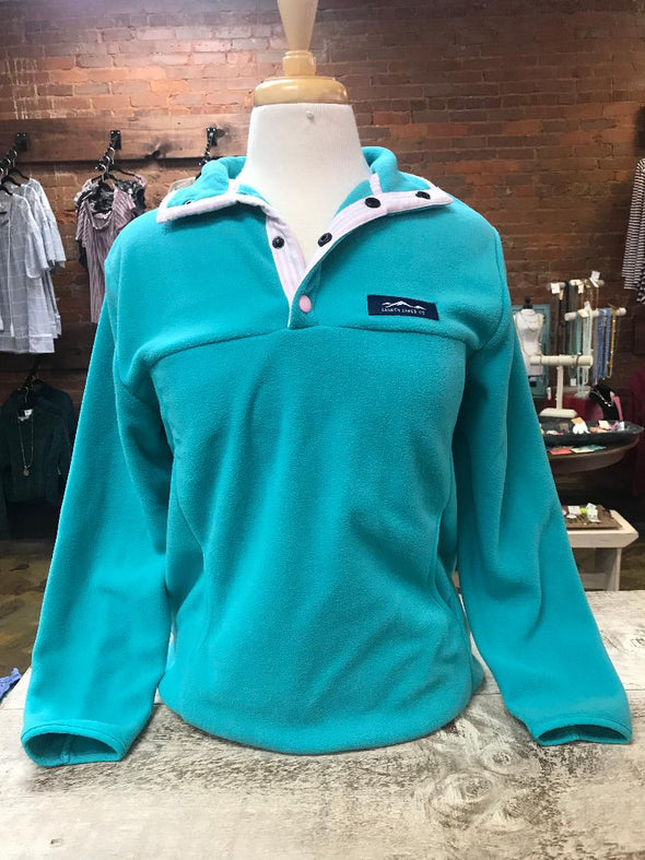 lauren james teal pullover.JPG