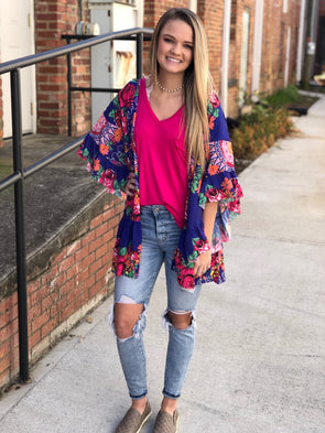 All things floral kimono 29165