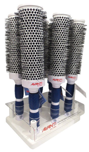 Dannyco extra long ceramic round brush