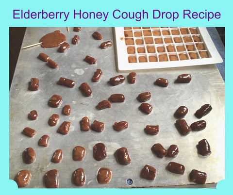 Elderberry Honey Cough Drop Recipe