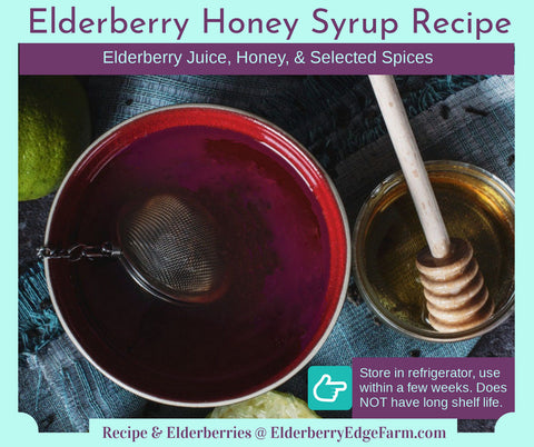 Elderberry Honey Syrup Recipe