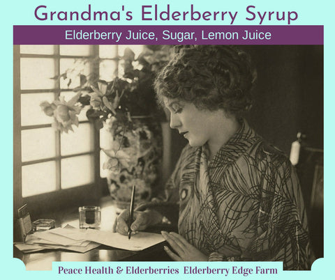 Grandma's Elderberry Syrup Recipe