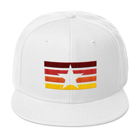 Star & Stripes Sunset Snapback