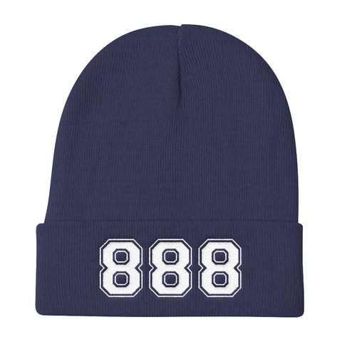 888 Lucky Number Beanie