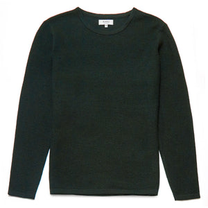 Tristao Wool Blend Crew Neck Jumper in Green