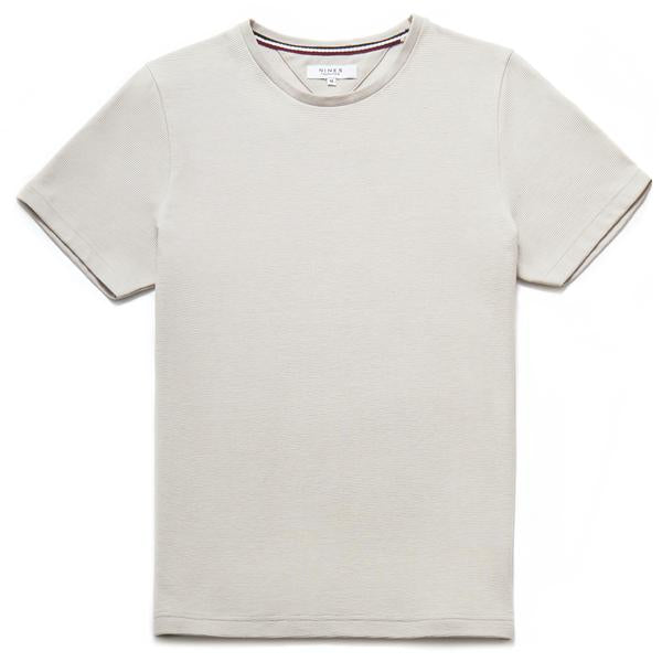 Paolo Rib Textured Crew Neck T-Shirt