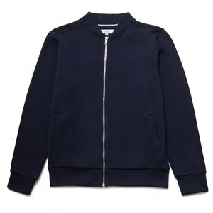Nino Zip Through Bomber in Navy - Nines Collection