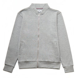 Nino Zip Through Bomber in Grey Marl - Nines Collection