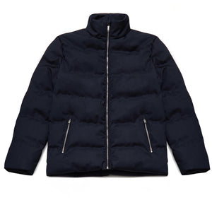 Jarell Puffa Jacket in True Navy