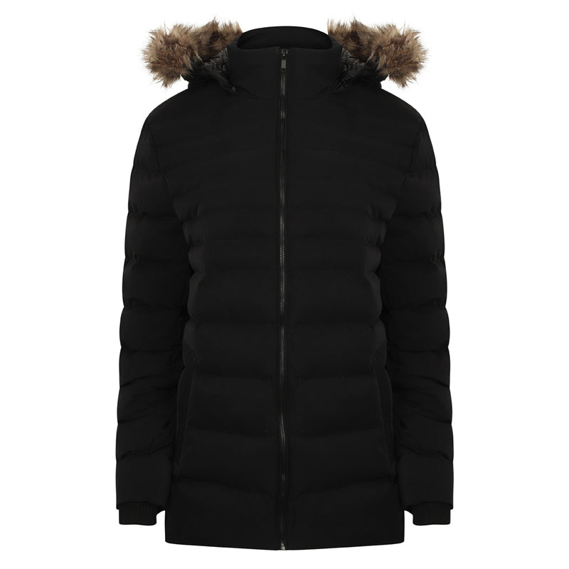 Altair Faux Fur Hooded Puffer Jacket