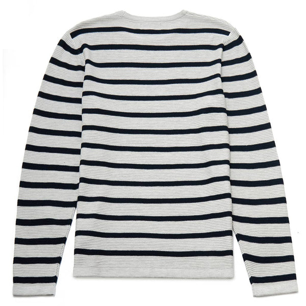 Bartholomew Stripe Crew Neck Jumper