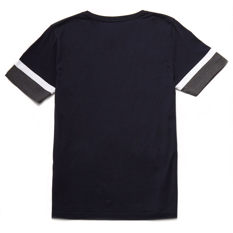 Corville Cotton T-Shirt With Sleeve Detail