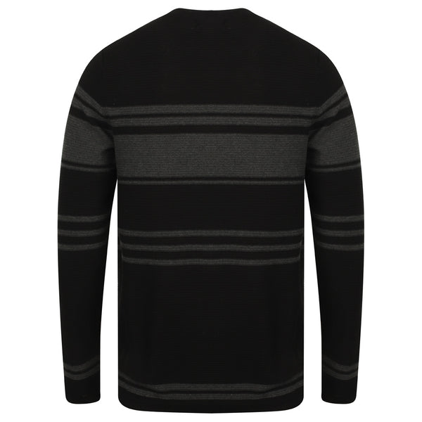 Cowdrey Crew Neck with Stripes Jumper