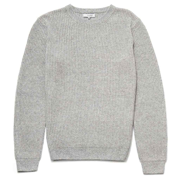 Cyril Crew Neck Jumper In Grey