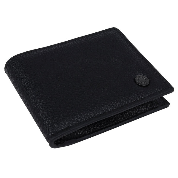 Darcy Faux Leather Wallet In Black