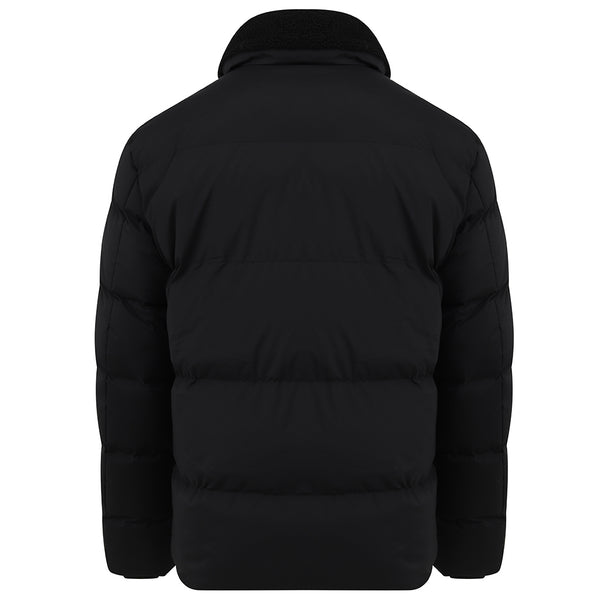 Elijah Puffer Jacket In Black