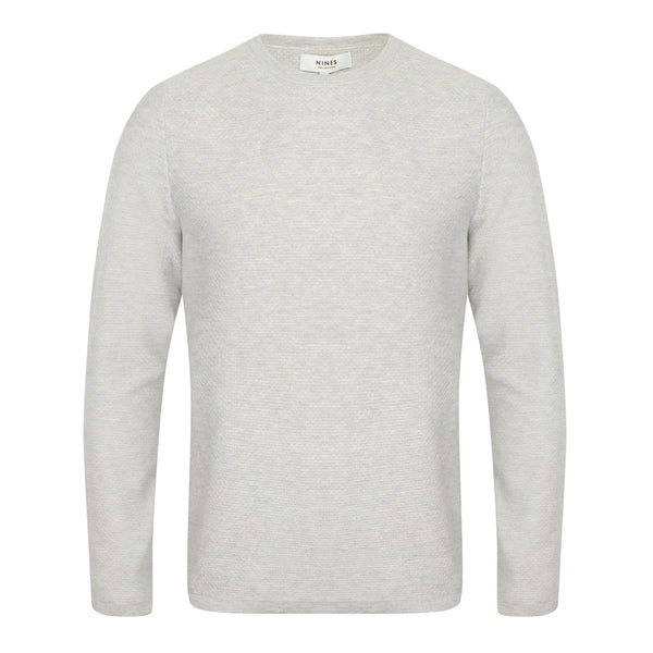 Felstead Textured Crew Neck Jumper