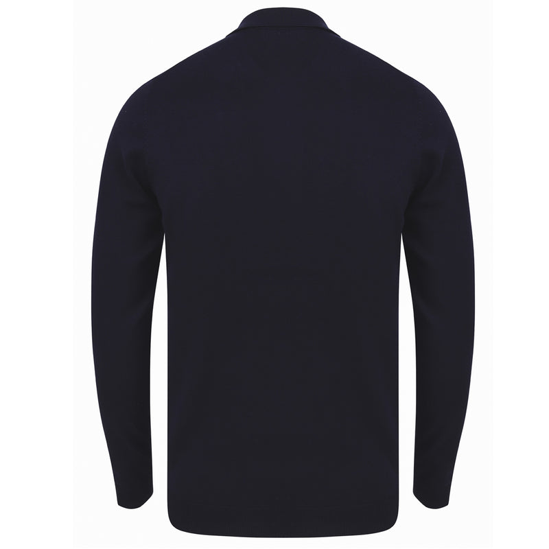 Fenston Long Sleeve Button Neck Polo