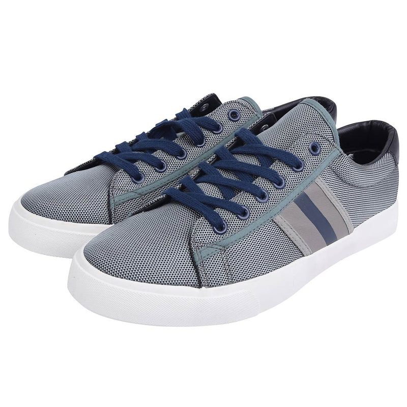 Ferrara Trainers In Grey With Contrast Stripes