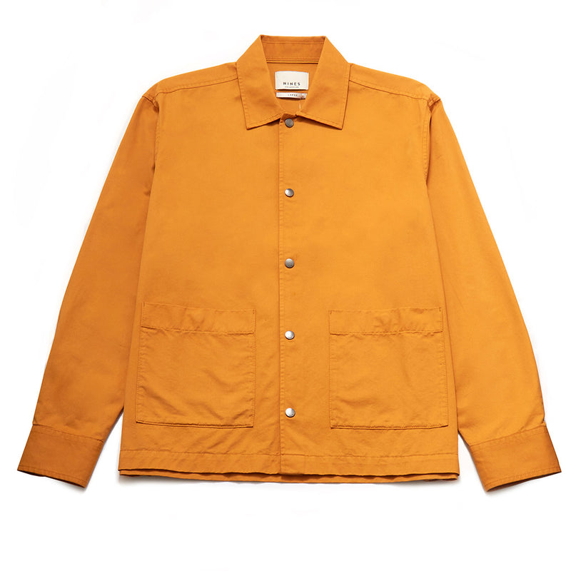 Hurst Cotton Twill Shirt Jacket