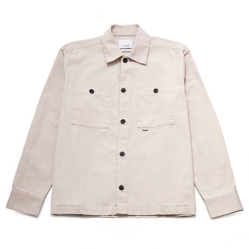 Manor Cotton Oxford Shacket