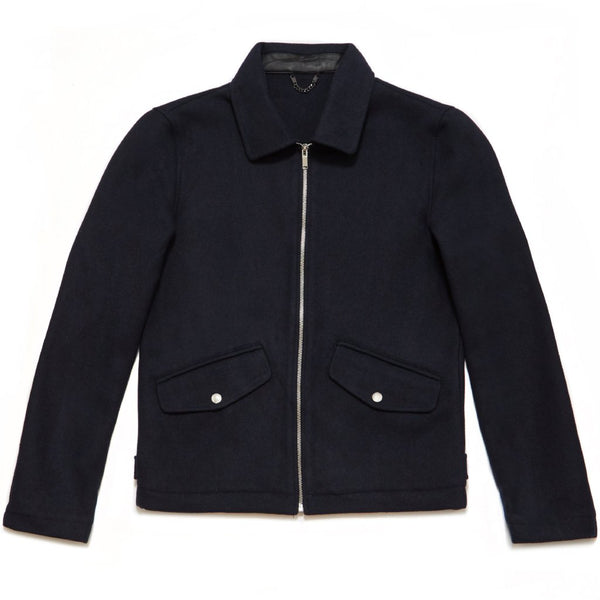 Primland Wool Blend Jacket in Navy - Nines Collection