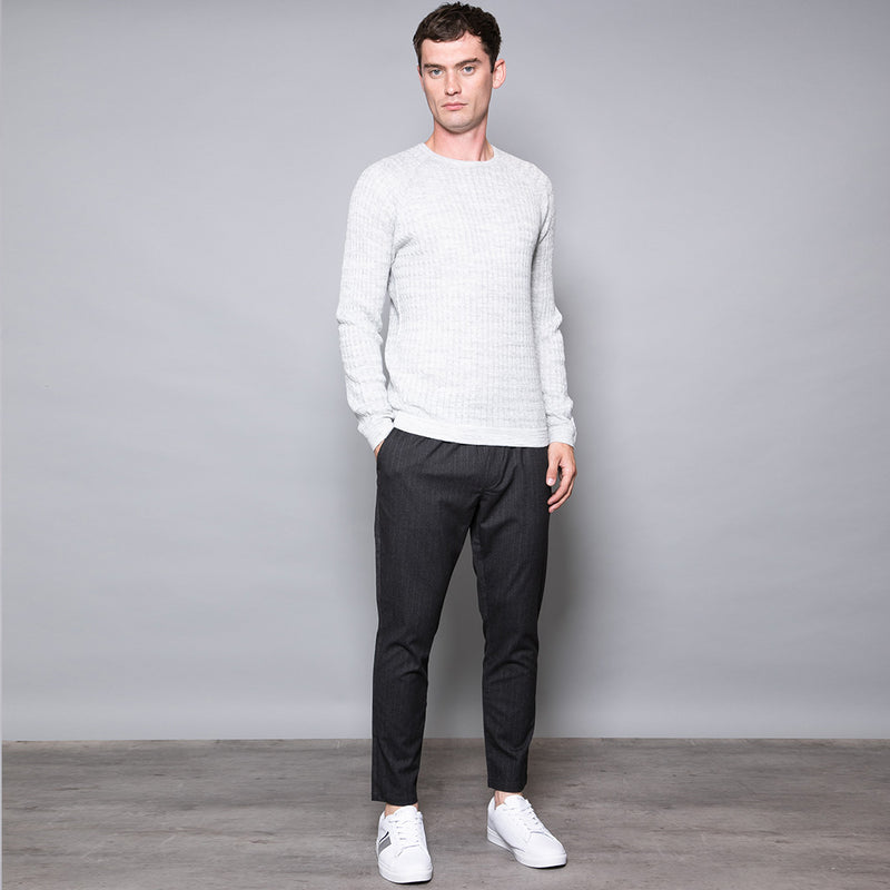 Mytton Cable Crew Neck Jumper