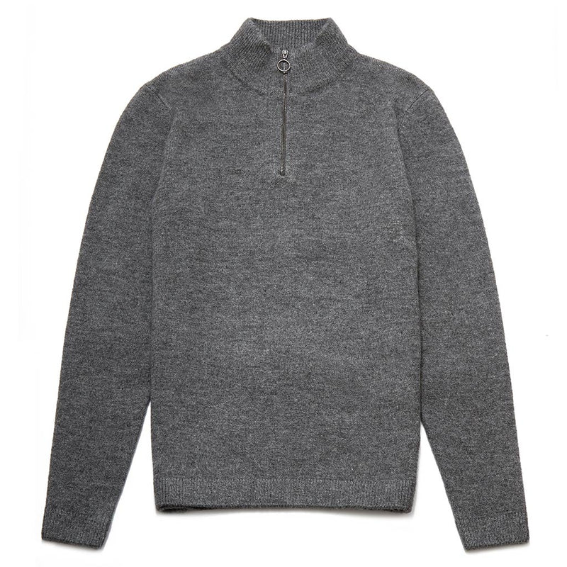 Roland Funnel Neck Zip Jumper
