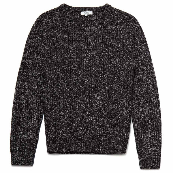 Seaton Crew Neck Moss Stitch Jumper