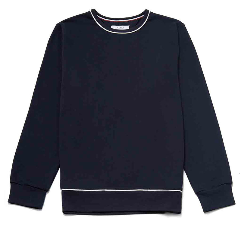 Steinbeck Cotton Crew Neck Sweatshirt
