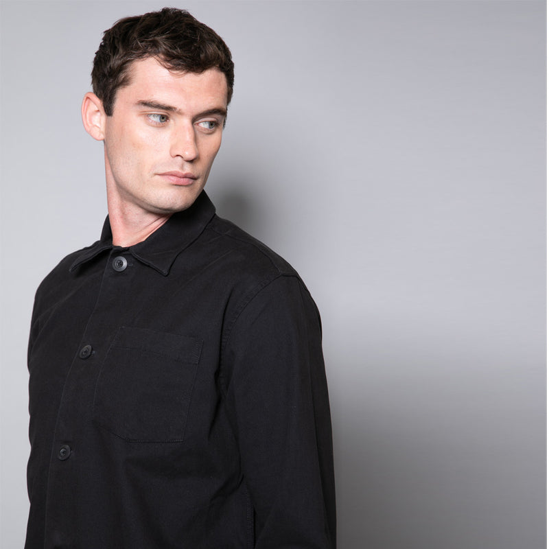 Twain Slim Fit Dyed Twill Shirt
