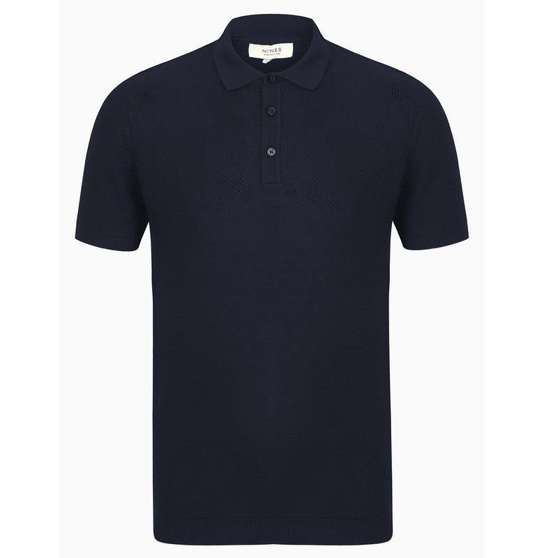 Vandelli Textured Short Sleeve Polo