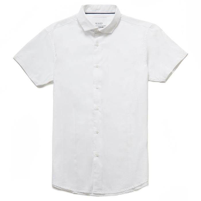Bailey Cutaway Collar Short Sleeve Shirt
