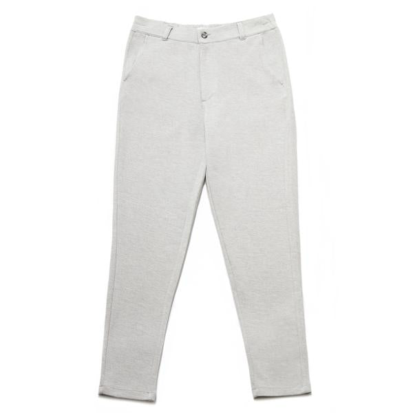 Pisa Cotton Blend Piqué Trousers