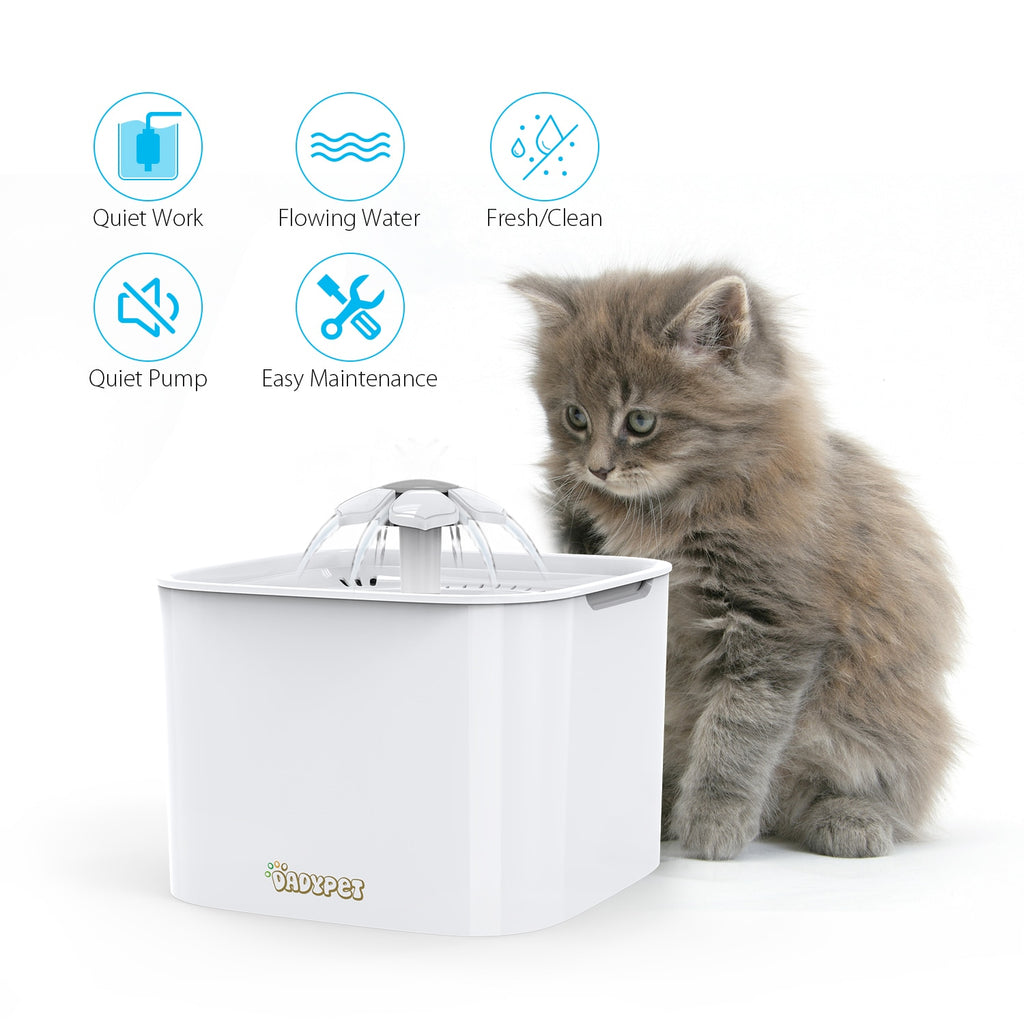 Automatic Water Fountain Feeder for Cats and Dogs