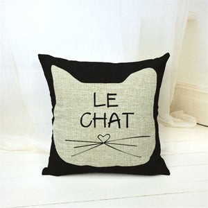 Crazy Cat Lady Home Cushion Pillow Cases