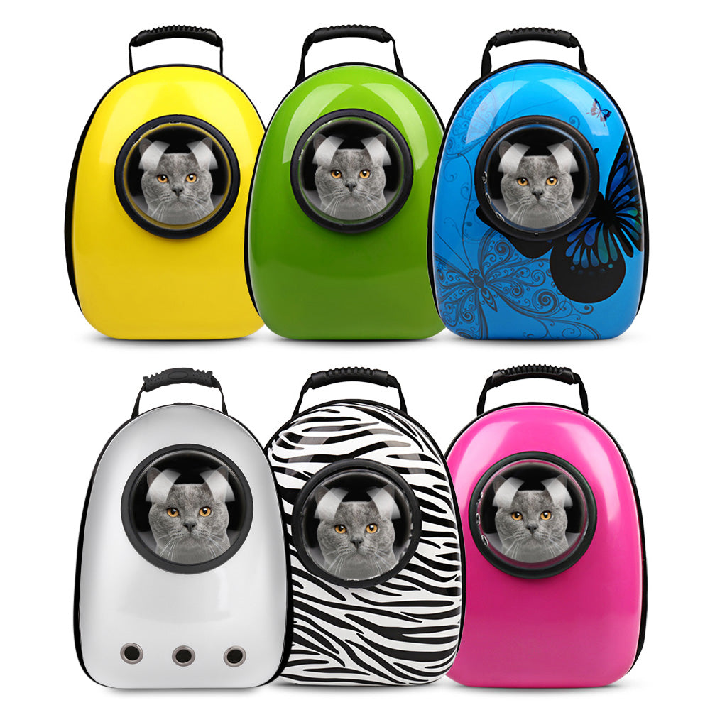Astronaut Space Capsule Pet Carrier Backpack Fancy Colors