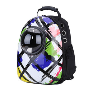 Astronaut Space Capsule Pet Carrier Backpack Themed Color