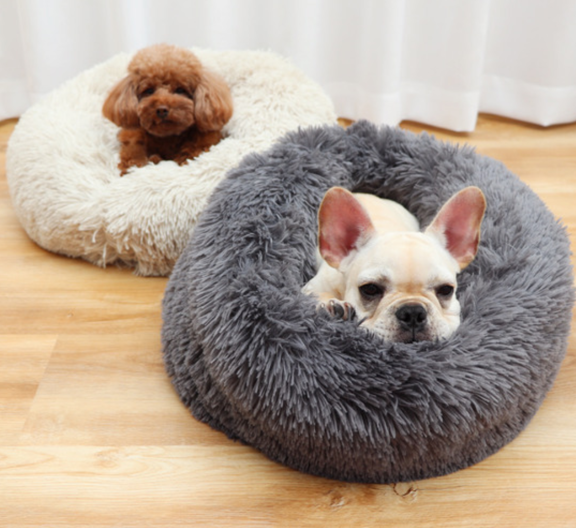 Luxury Pet Couch Bed with Ultra Soft Plush (25% off promo)
