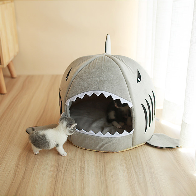 Scary Shark Cave for Cats & Dogs (20% off New Year promo)