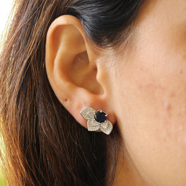 Gorgeous Petal Stud Earrings