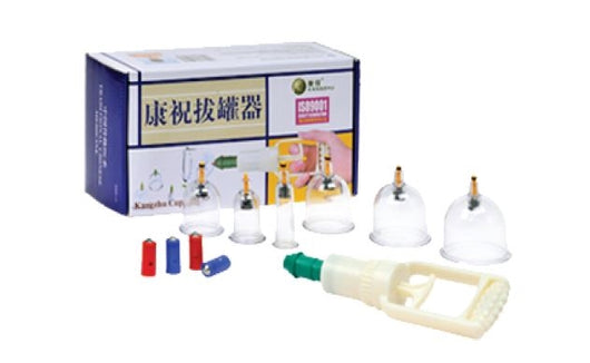 Cupping Set - Kang Zhu Brand Magnetic 6 Piece - CAM SUPPLY INC. DBA WABBO