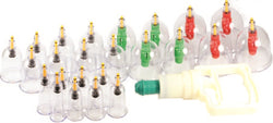 Cupping Set-Wabbo Brand Magnetic 24 Piece Cupping Set - CAM SUPPLY INC. DBA WABBO