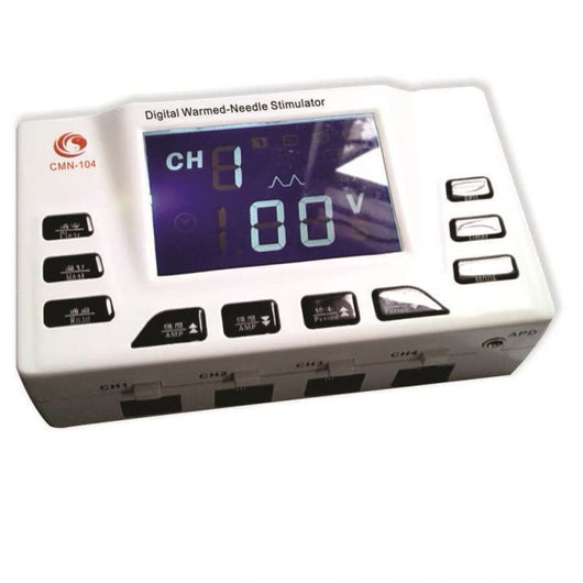 CMN-104 Digital Needle Warmer/Stim 4 ch