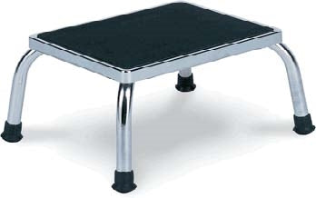 Chrome Footstool - CAM SUPPLY INC. DBA WABBO